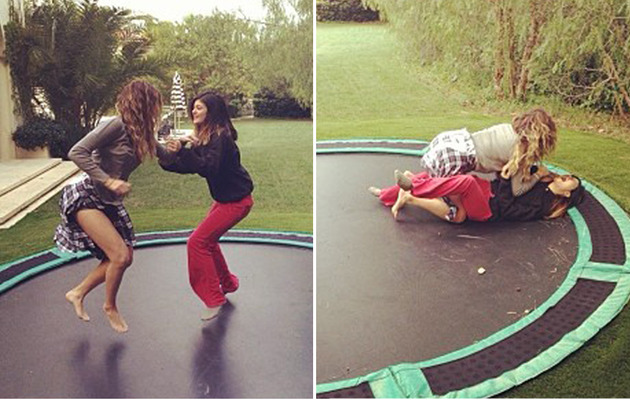 Khloe Kardashian Sends Sister to the Hospital After Trampoline Accident