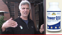 Mark Spitz -- My Mustache Was Violated By Pill Company