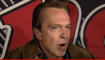David Cassidy -- Charged With DUI
