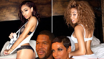 Eddie Murphy's Daughters -- Stripped Down in Mom and Future Stepdad's Bedroom