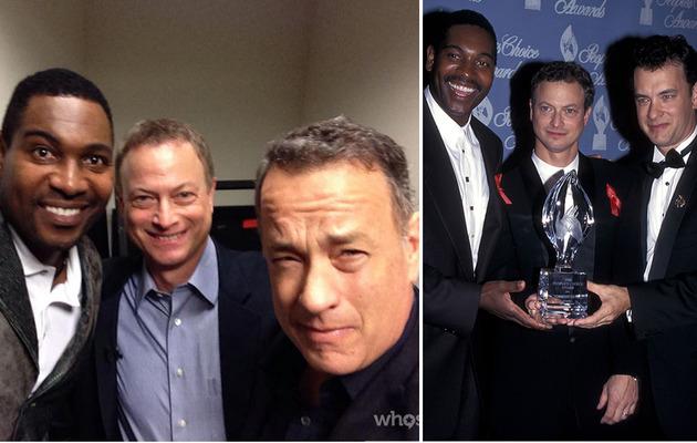 """Tom Hanks Reunites With """"Forrest Gump"""" Costars!"""