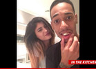 Kylie Jenner -- Mackin' On Lil Za in Justin Bieber's Weed Kitchen