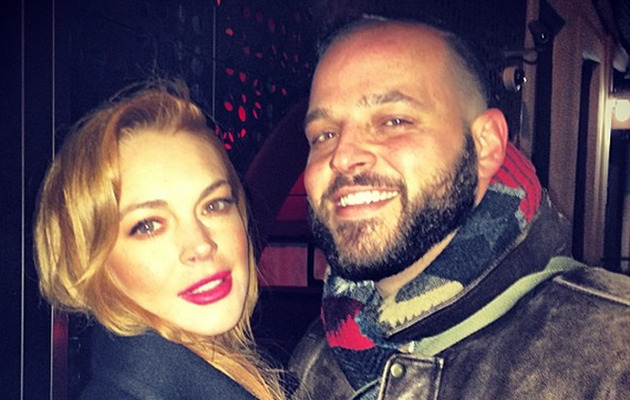 "Lindsay Lohan Has a Mini ""Mean Girls"" Reunion!"