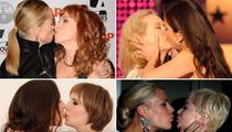 Chicks Kissing Chicks -- The Smooching Snapshots