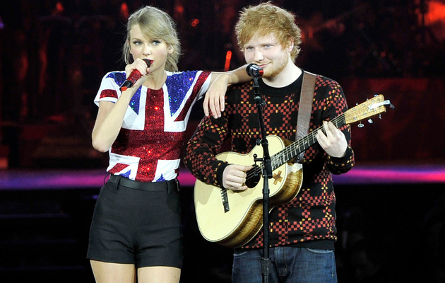 Taylor Swift & Ed Sheeran Perform at US Ambassador's House!