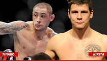 Thiago Silva -- Officially Replaced in 'UFC 171' ... After Insane Gun Arrest
