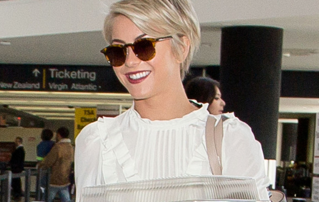 Julianne Hough Ditches Extensions -- See Her New Pixie Cut!