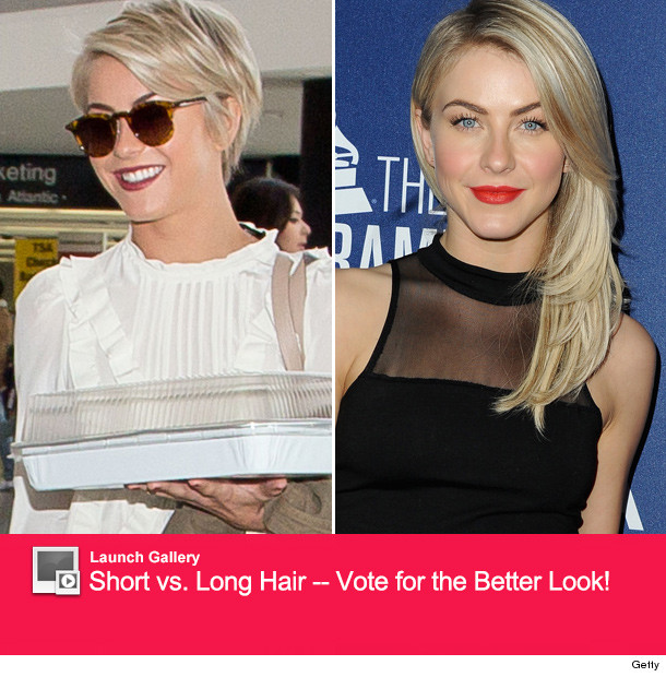 Julianne Hough Ditches Extensions See Her New Pixie Cut Toofab