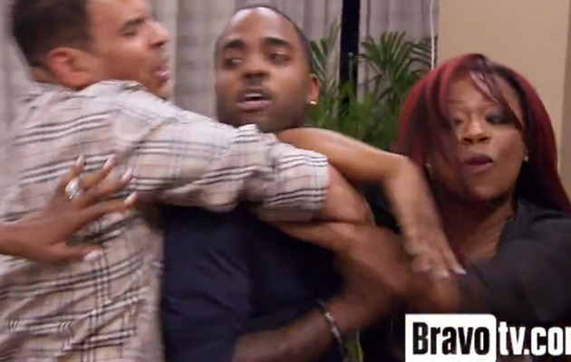 """""""Real Housewives of Atlanta"""" Pajama Brawl Part 2: Kandi Goes Nuts!"""