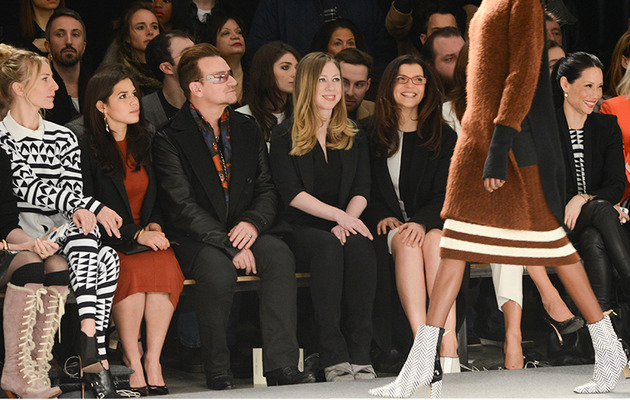 Famous Faces Take Front Row at New York Fashion Week!
