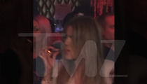 Khloe Kardashian -- Assaults Dance Floor With Blunt Object