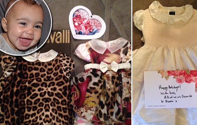 Kim Kardashian Shares New Photos of North West's Designer Duds