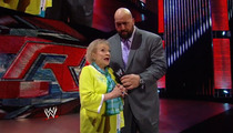 Betty White -- Crashes 'Monday Night Raw' ... 'I'm Gonna Kick Some Ass'