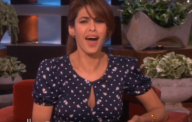 Eva Mendes Grilled About Pregnancy Rumors -- Is She Having Ryan Gosling's Baby?
