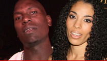 Tyrese -- I Want My Ex Nailed With Contempt -- for Being Contemptible