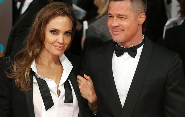 Brad Pitt & Angelina Jolie Steal Spotlight on BAFTA Red Carpet