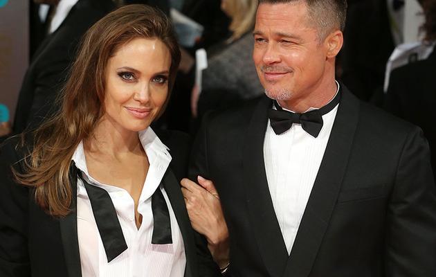 Brad Pitt & Angelina Jolie Steal Spotlight on BAFTA Red Carpet