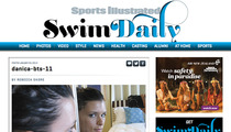 Danica Patrick -- Topless Selfie ... On Sports Illustrated Website