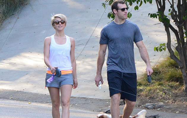 New Couple? Julianne Hough Spotted with Hockey Player Brooks Laich