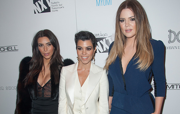 Kim, Kourtney & Khloe Stun at Charity Benefit -- Who Looked the Best?