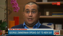 George Zimmerman -- I'm a Scapegoat for Obama