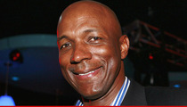 Clyde Drexler -- Cleared for Marriage ... Met Fiancee Through NBA Legend