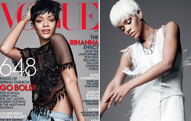 "Rihanna Shares Her Rules of Fashion in Vogue: ""I Worry About the Pain Later"""