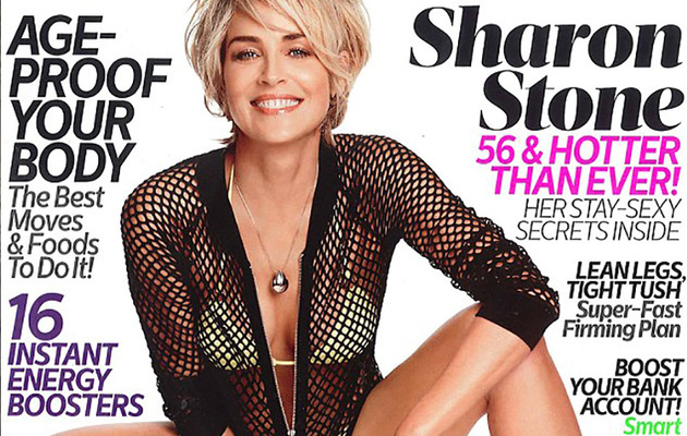 Sharon Stone, 56, Flaunts Bikini Bod & Talks Aging In Hollywood