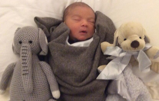 Simon Cowell Shares Adorable Snapshot of Newborn Baby Eric!