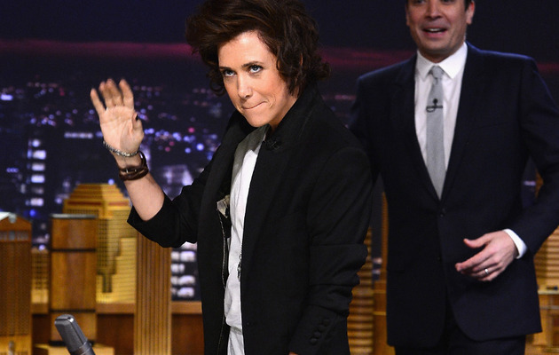 Kristen Wiig Has Us Cracking Up with Her Harry Styles Impression