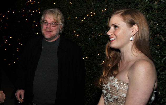 Amy Adams Breaks Down While Talking About Philip Seymour Hoffman