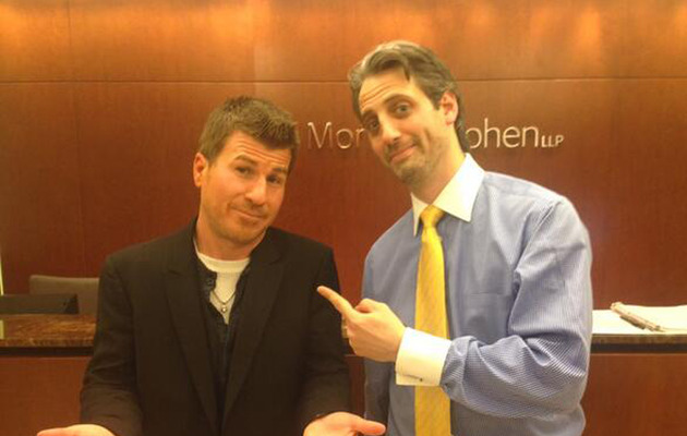 "Josh Saviano & Jason Hervey Have a Mini ""Wonder Years"" Reunion!"