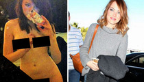 Emma Stone -- Nude Selfie Investigator Phones It In