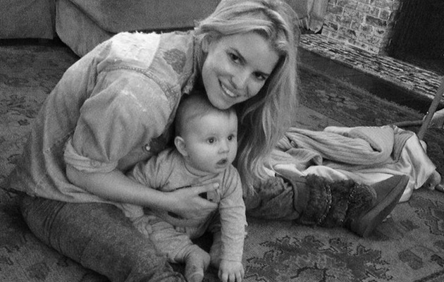 Jessica Simpson Shares Cute Photos With Baby Ace!