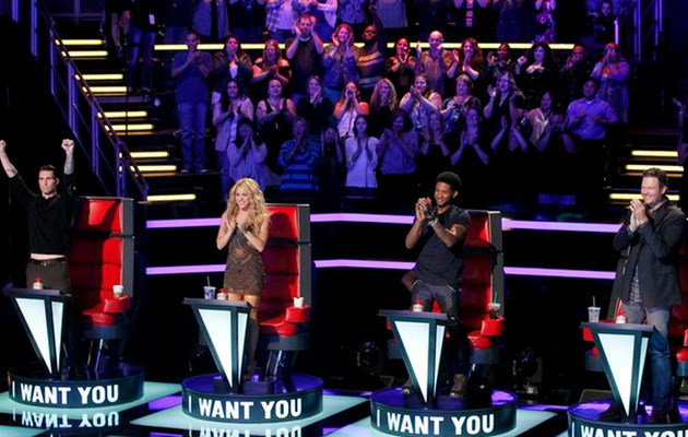 "Video: See Who Usher Already Dubbed ""The Voice"" of Season Six!"