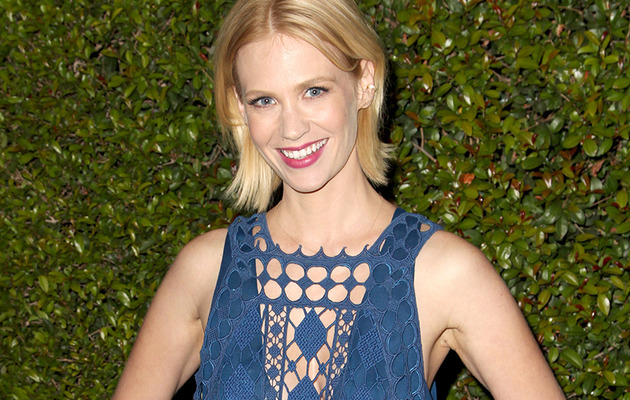 January Jones Shares Epic Throwback Photo -- with a Mullet!