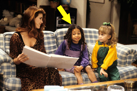"Jurnee Smollett was only 6-years-old when she first played Michelle Tanner's friend and classmate Denise in the early '90s television show ""Full House."""