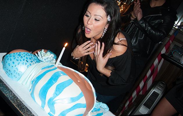 Pregnant Jwoww Celebrates 28th Birthday -- See Her Crazy Cake!