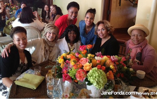 Kerry Washington Celebrates Baby Shower with A-List Guests