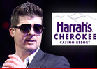 Robin Thicke -- Cancels Concert ... Cherokees Get Screwed Again