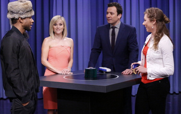 Jimmy Fallon Plays Catchphrase with Usher & Reese Witherspoon