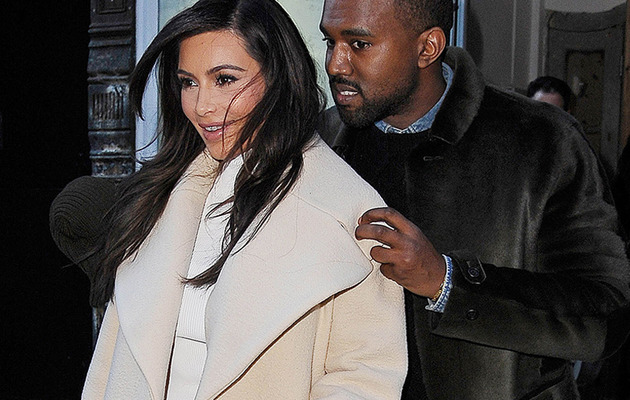 "Kim Kardashian Wants a ""Smaller"" and ""Intimate"" Wedding -- You Believe It?"