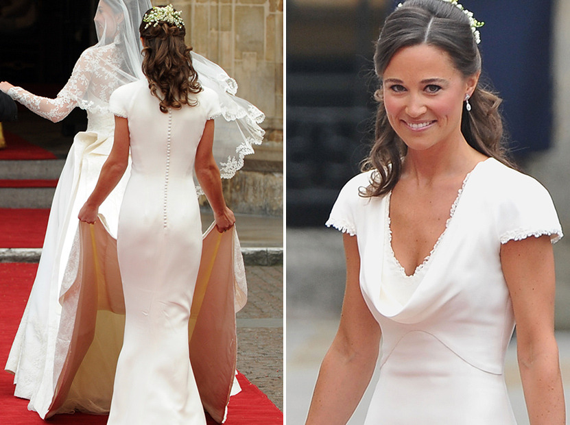 Pippa Middleton Says Royal Wedding Dress Fit Quot Too Well