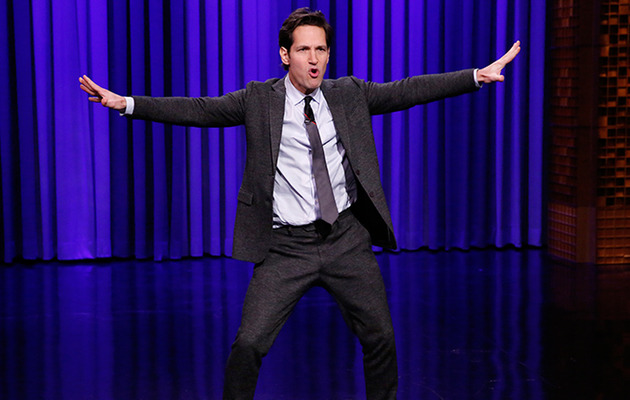 Jimmy Fallon Challenges Paul Rudd to Lip Sync Battle!