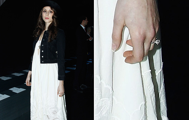 Troian Bellisario Shows Off Engagement Ring for the First Time