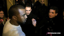 Kanye West -- Get Your Autograph Pen Away from My Priceless White Sweater
