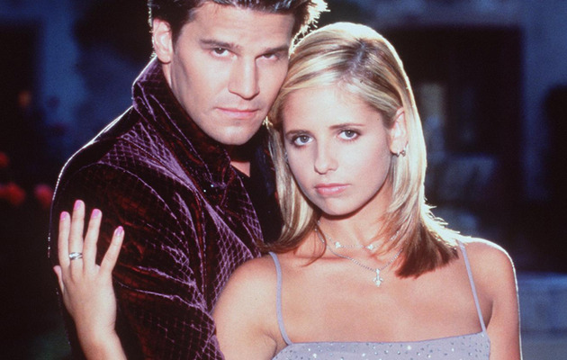 "Buffy & Angel Reunite, ""Vampire Slayer"" Fans Rejoice!"