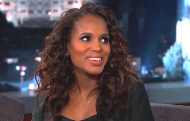 "Kerry Washington Stars in Spanish ""Scandal"" Parody on ""Jimmy Kimmel"""