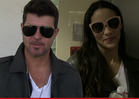 Paula Patton -- Robin Thicke Won't Get Me Back by Crying