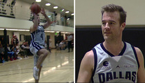 James Van Der Beek -- My Hoop Game Is Tight ... Except for the Airballs